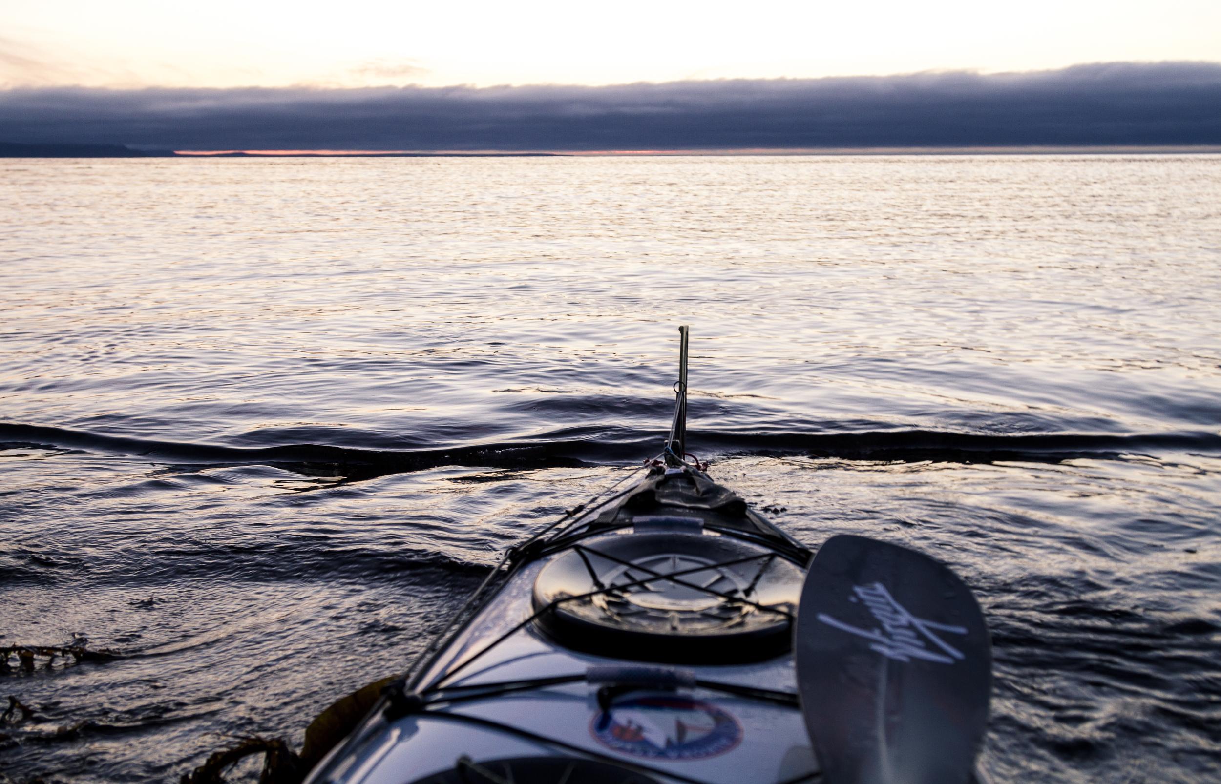 Kayak eye view