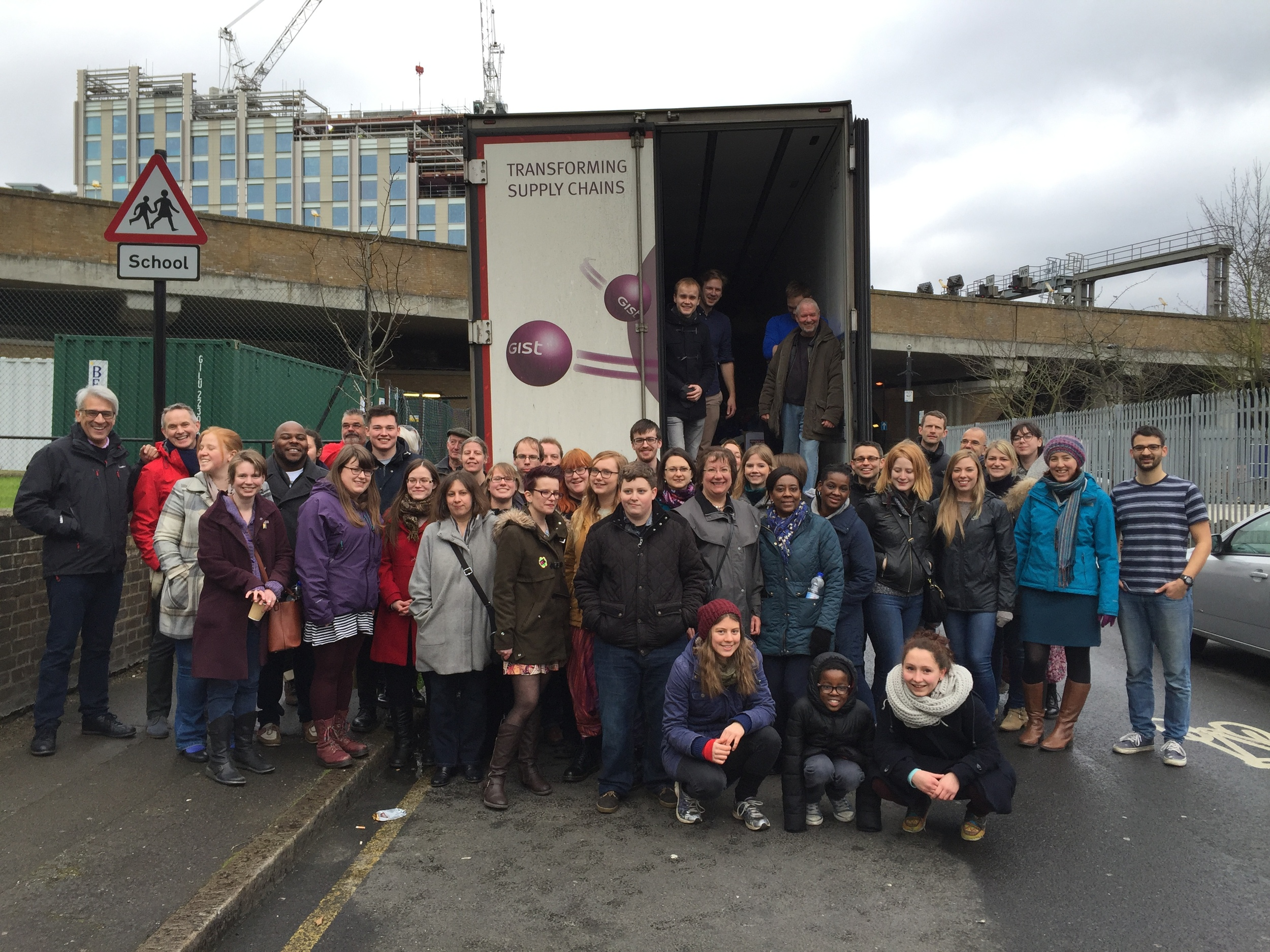 Our wonderful volunteers who helped to load the lorry last year; providing vital supplies to those in need in Calais. This year, we want to do more.
