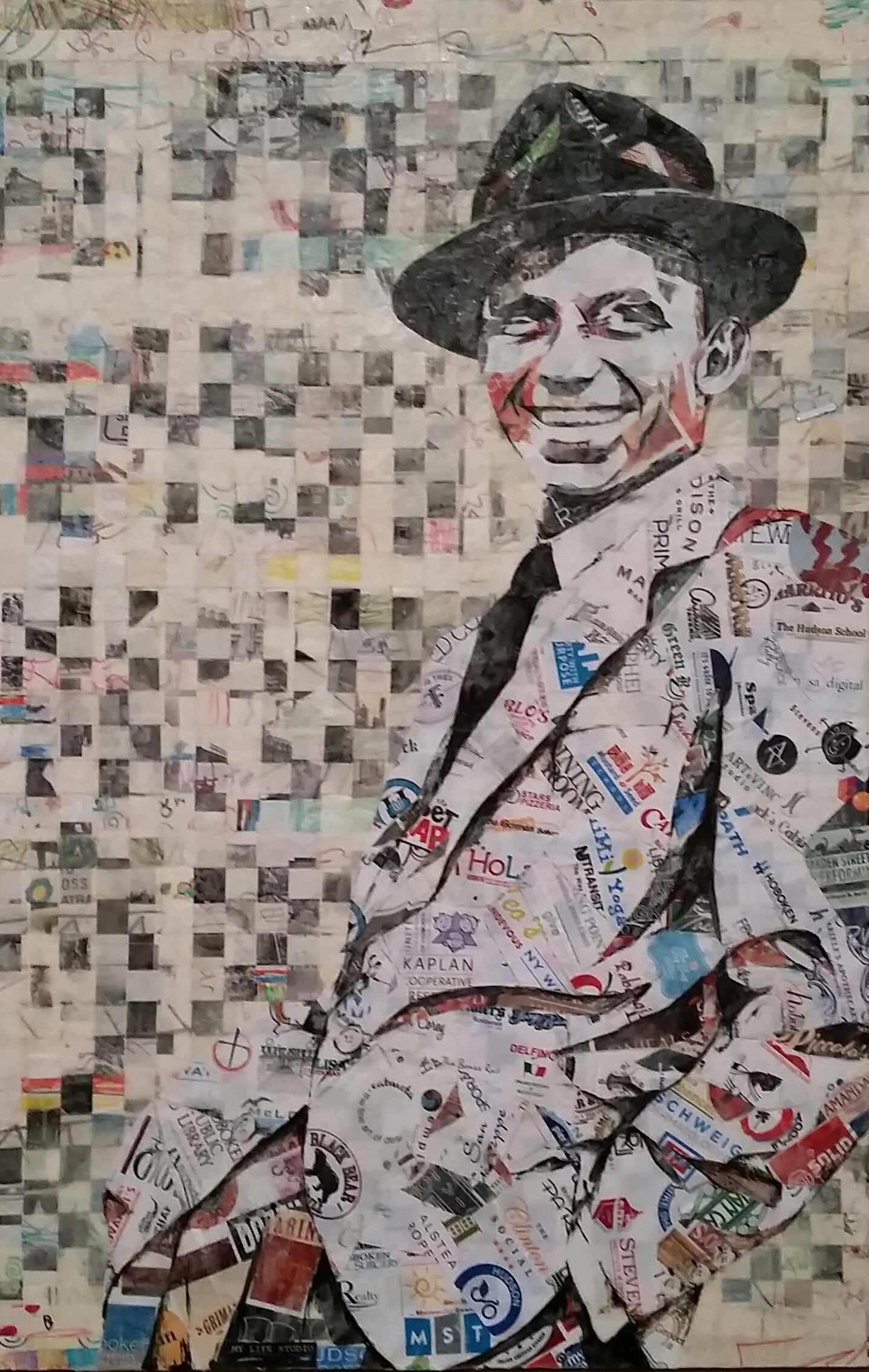 """Our Frank (52"""" x 36"""")"""