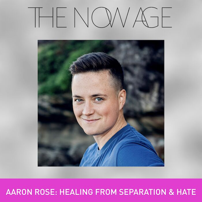 "The Now Age Podcast - With Ruby Warrington of The Numinous""This episode features an interview with diversity & inclusion expert Aaron Rose and gets deep into the weeds of our collective healing process around divisiveness and hate – the root of which, Aaron argues, lies in the of pain of separation and resulting fear of 'otherness.'Something of a 'millennial Marianne Williamson,' Aaron's work focusses largely on explaining how this pain / fear manifests in our reality as political scaremongering, media stereotyping, institutionalized racism, and exploitative capitalism – and that, in seeking to address any of the above, we must first look at how these systems have taken hold and become embedded within ourselves."""