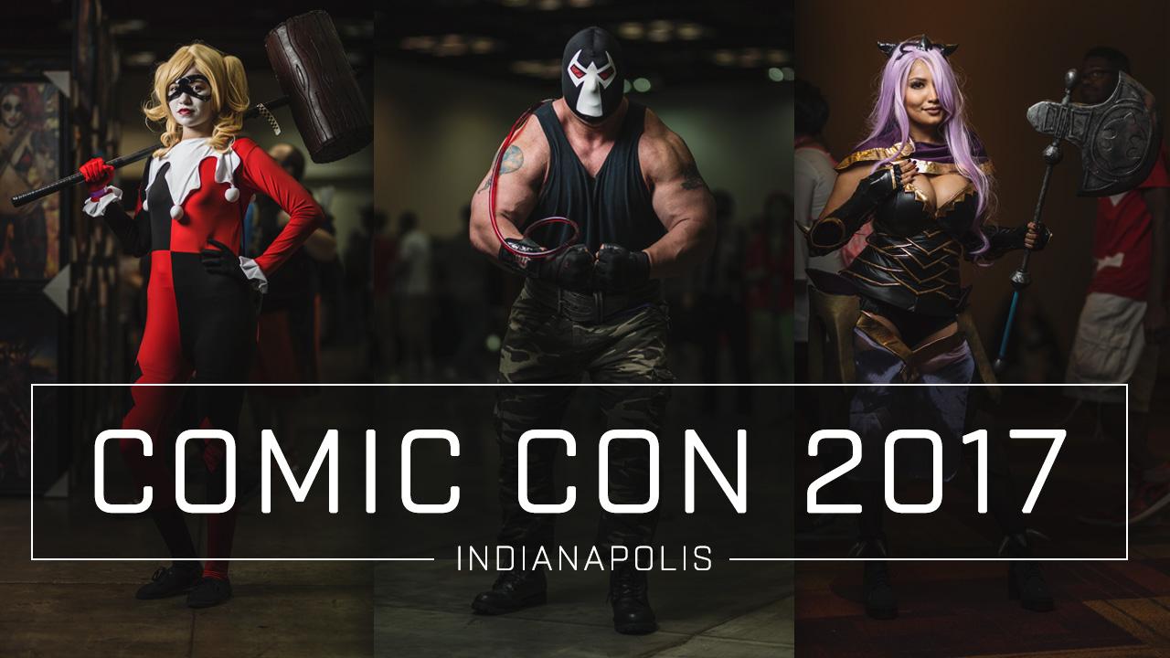 Comic Con 2017 Hero Images