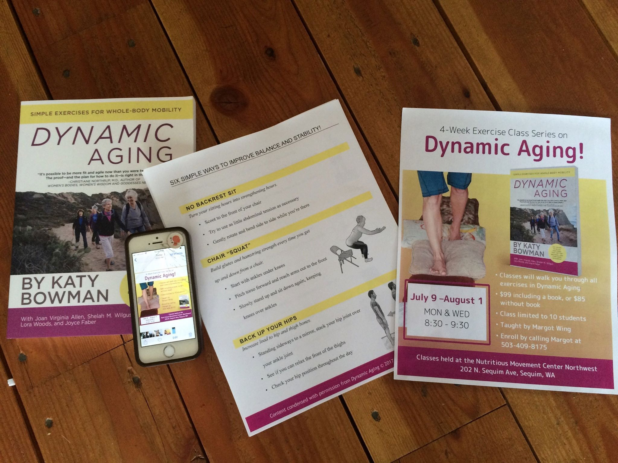 Dynamic Ageing - 4 Week Exercise Class Series (8 Classes)