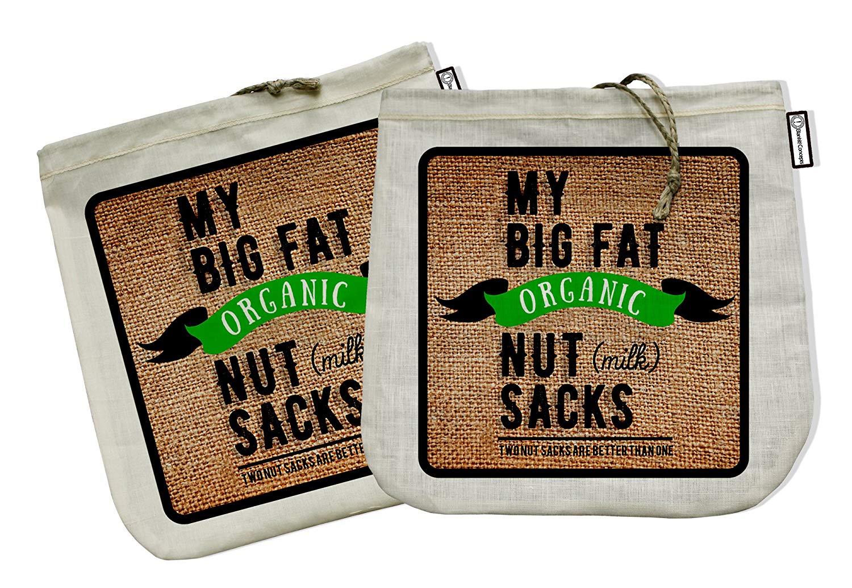 Organic Nut Milk Straining Bags