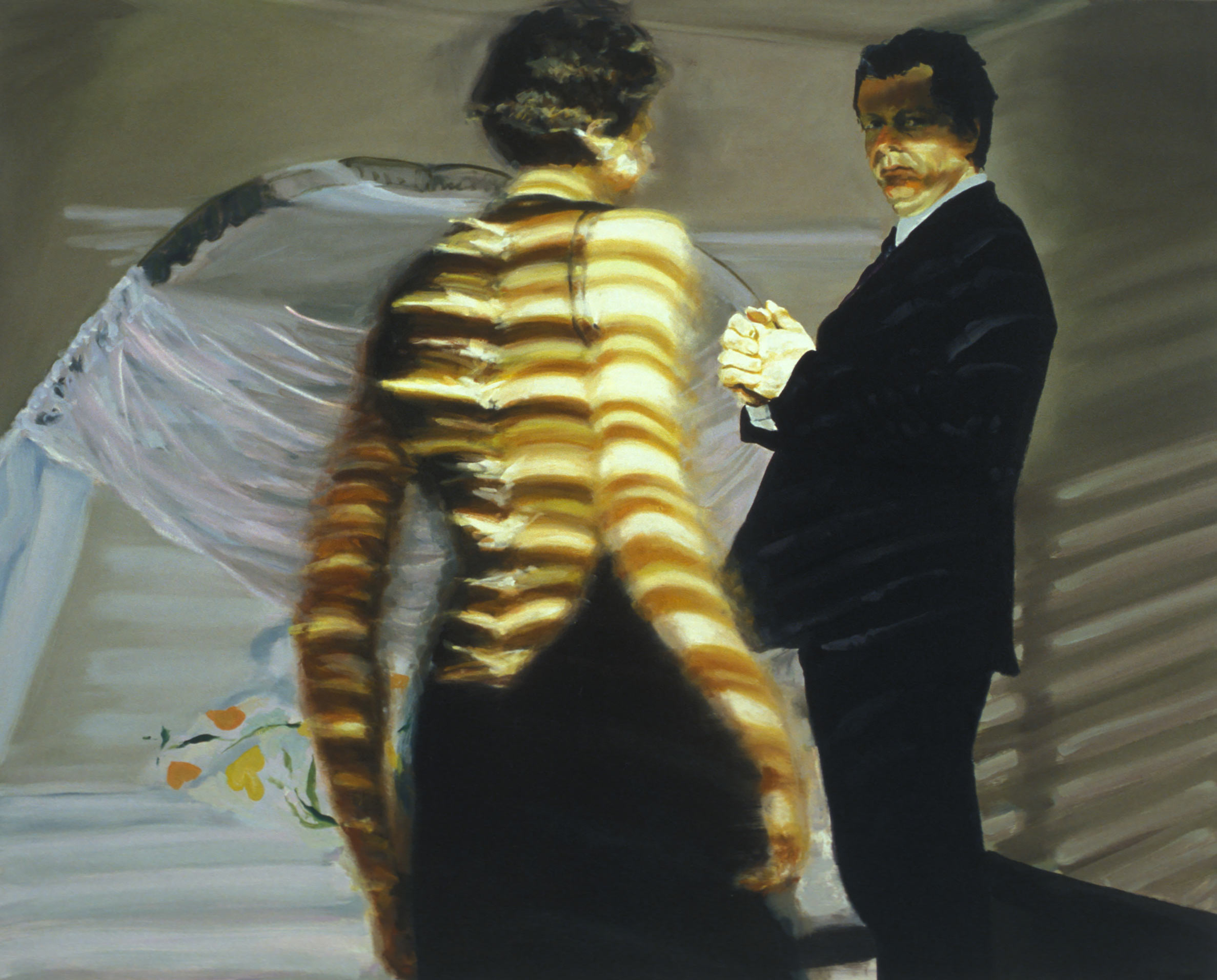 Bedroom, Scene #6, Surviving the Fall Meant Using You for Handholds, 2004.