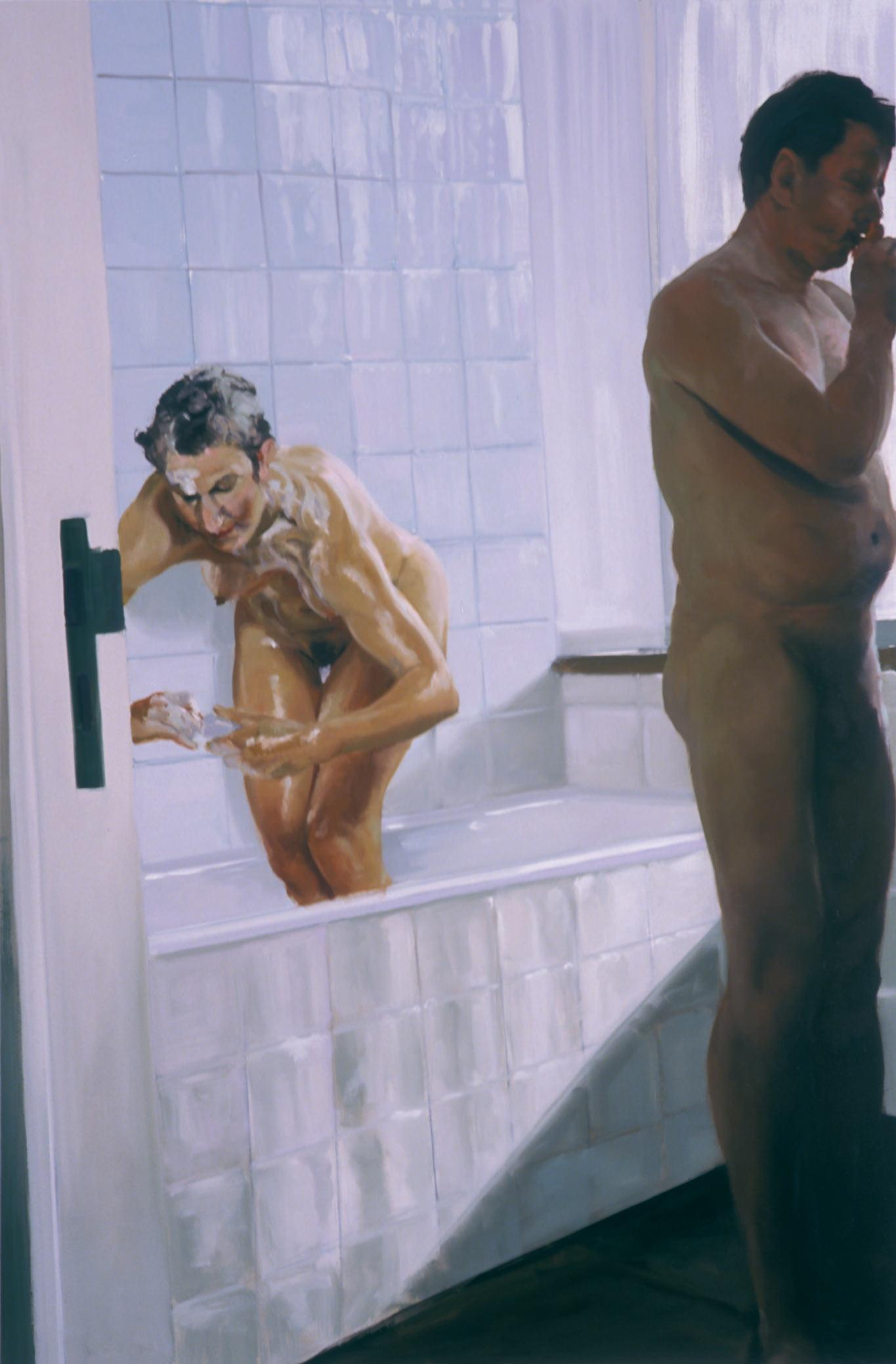 Bathroom, Scene #3, Untitled, 2004.
