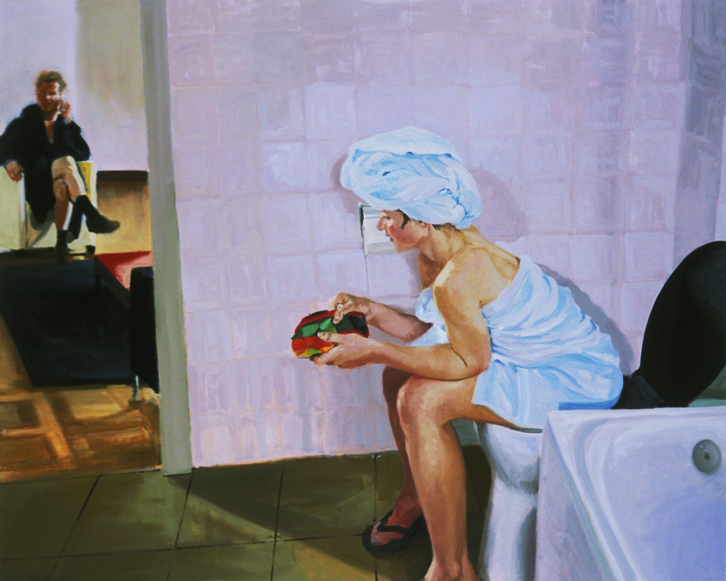 Bathroom, Scene #4, Untitled, 2005.