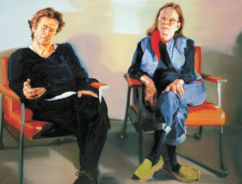 Portrait of Willie and Liz, 2003.
