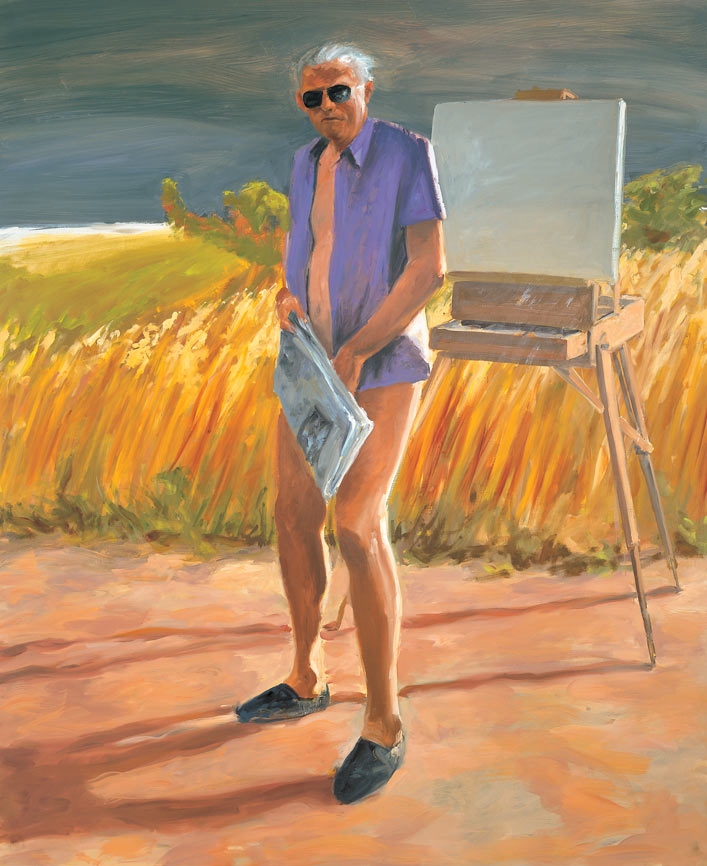 Portrait of the Artist as an Old Man, 1984.