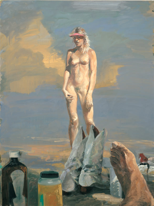 Untitled, 1987. Oil on Linen. 60 x 45 in. (152 x 114 cm.)
