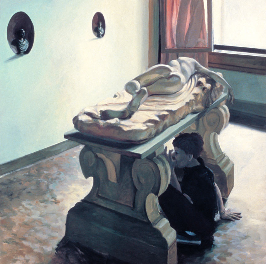 The Sheer Weight of History, 1982. Oil on Canvas. 60 x 60 in. (152 x 152 cm.)
