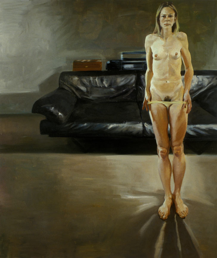 Untitled, 1994. Oil on Linen. 65 x 55 in. (165 x 140 cm.)