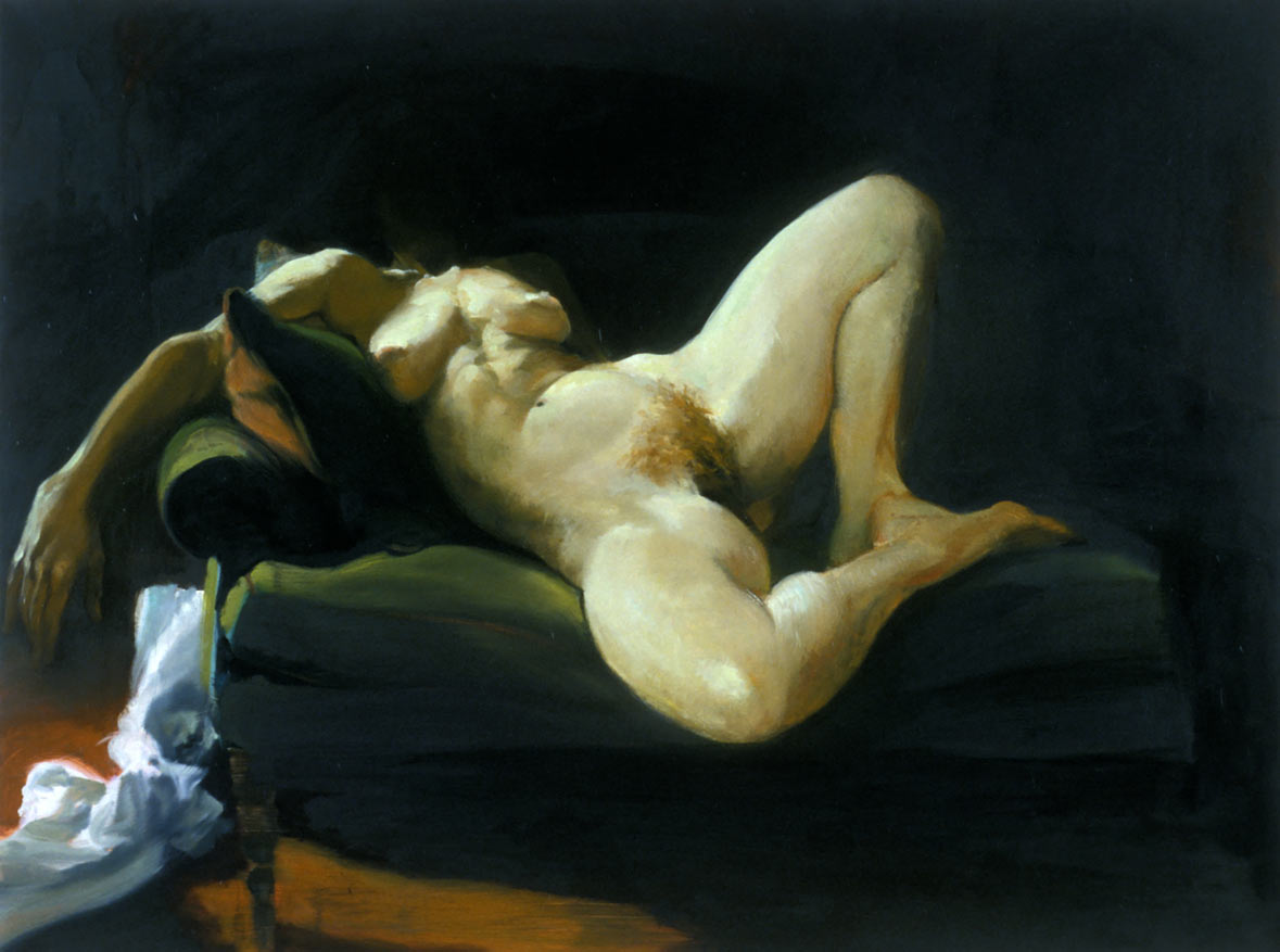 Untitled, 1998. Oil on Linen. 36 x 48 in. (91 x 122 cm.)
