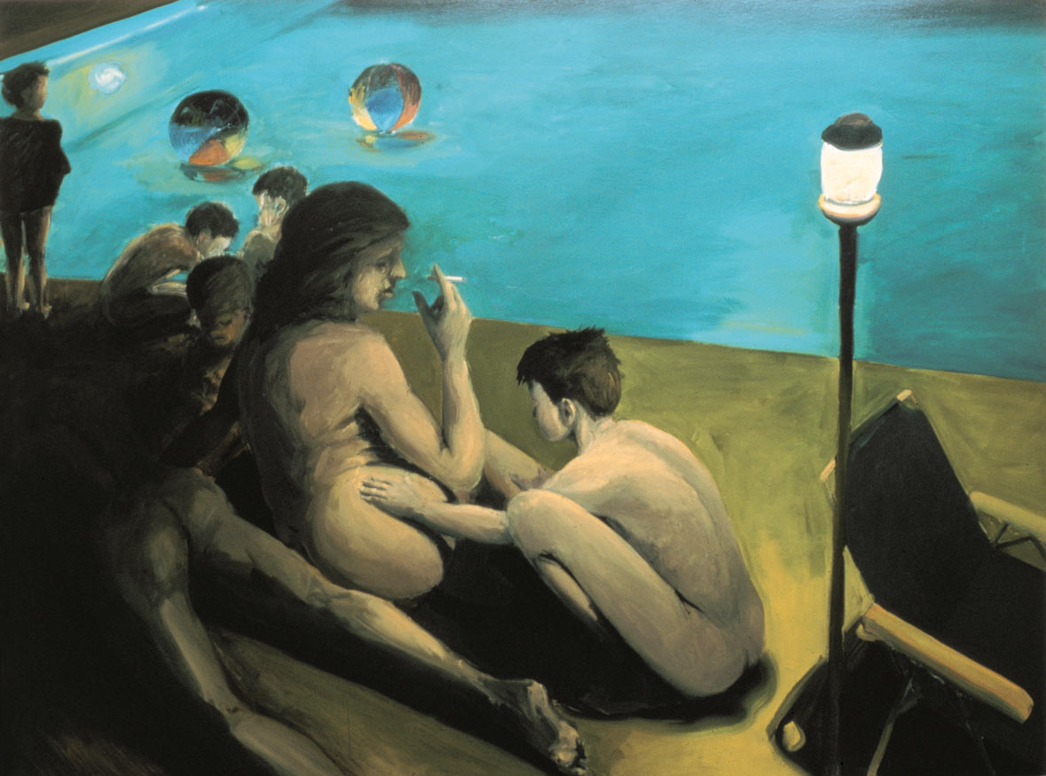 Birth of Love, 1981. Oil on Canvas. 72 x 96 in. (183 x 244 cm.)