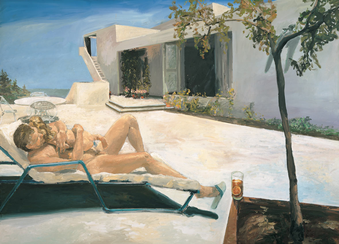 Daddy's Girl, 1984. Oil on Canvas. 78 x 108 in. (198 x 274 cm.