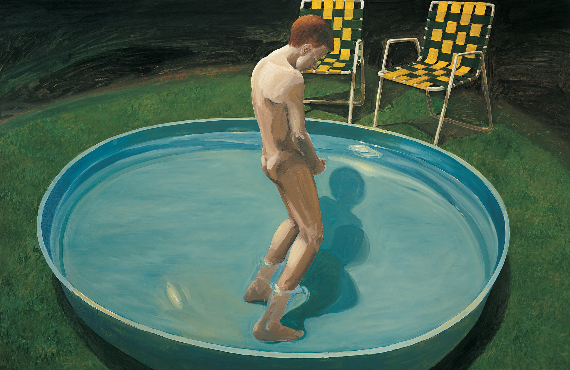 Sleepwalker, 1979. Oil on Canvas. 69 x 105 in. (175 x 267 cm.)