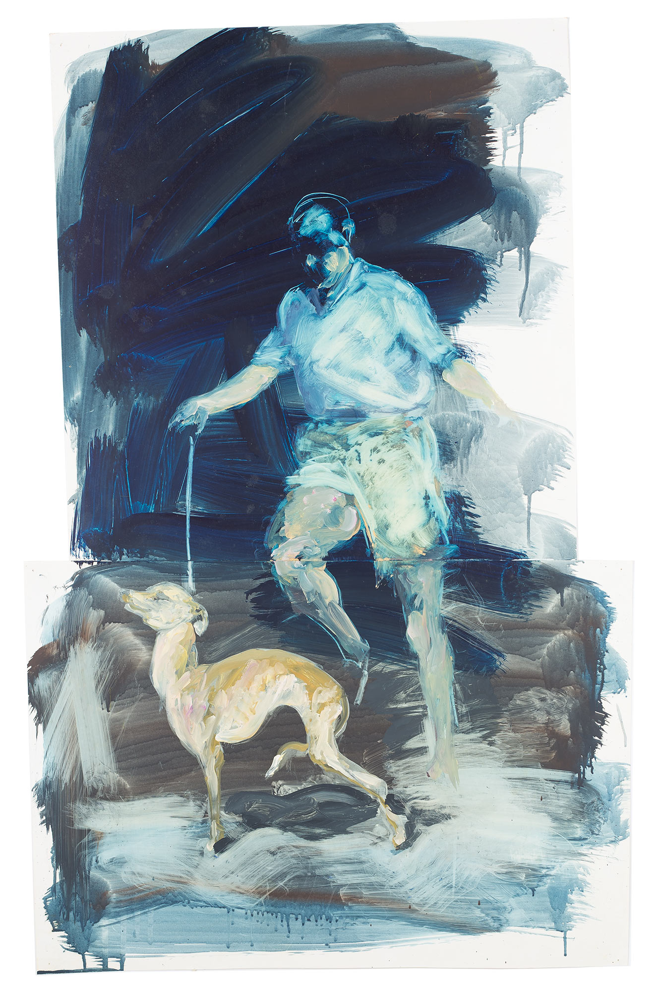 Study for Portrait of a Dog, 1987.