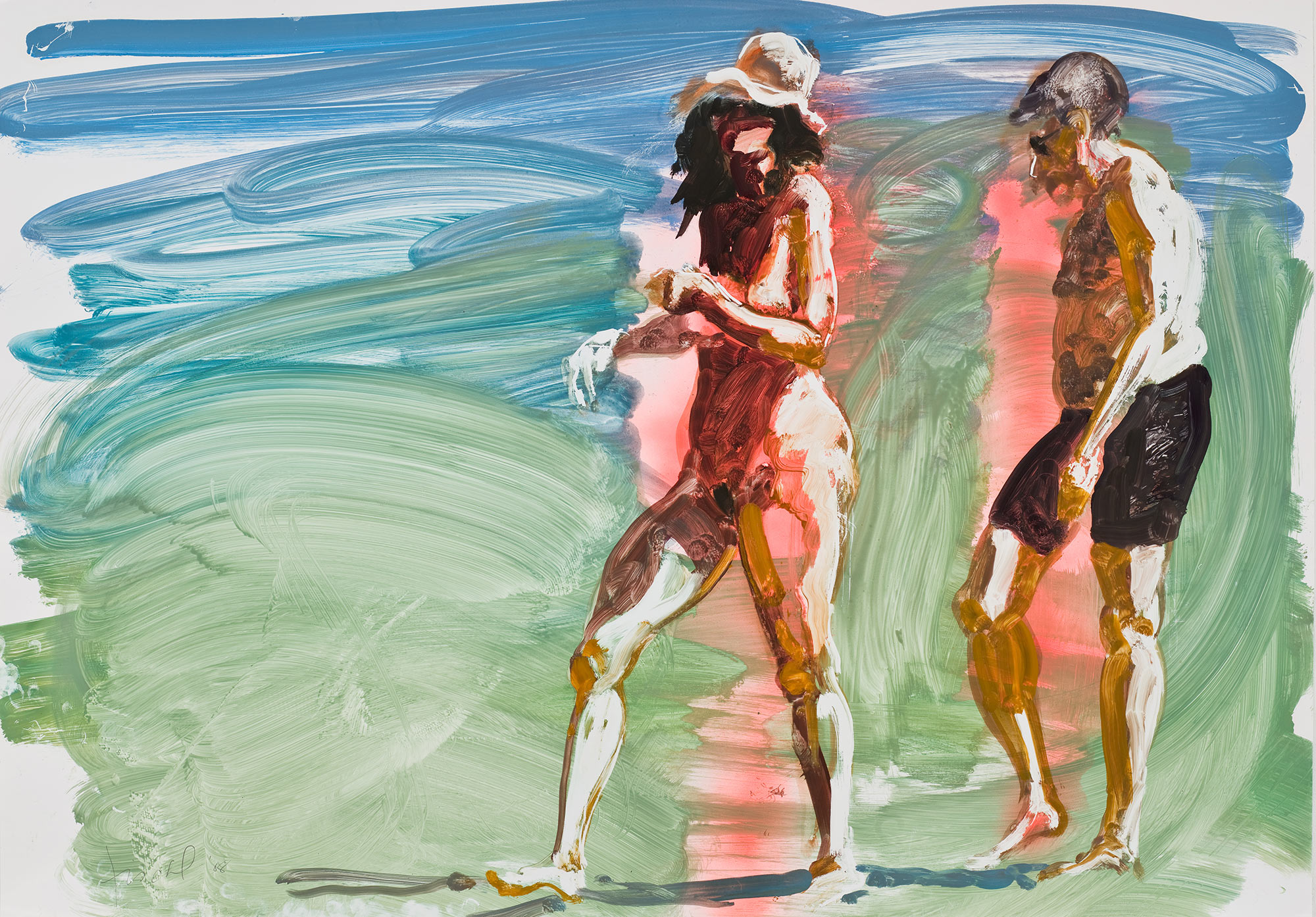 Untitled (couple walking), 2008.