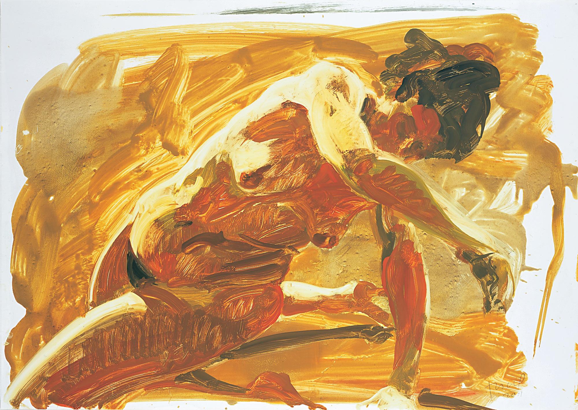 Untitled (Sliding), 2001.