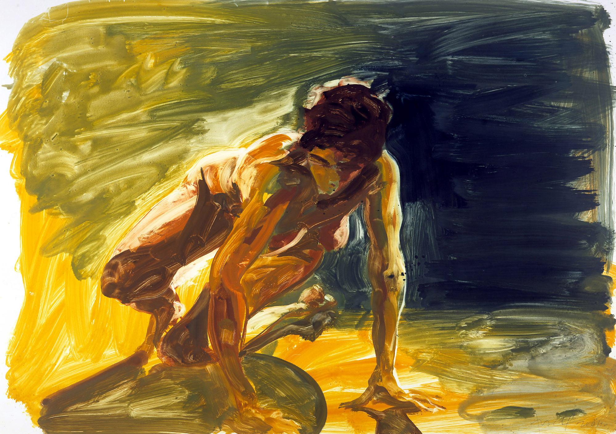Untitled (Crouching), 2001.