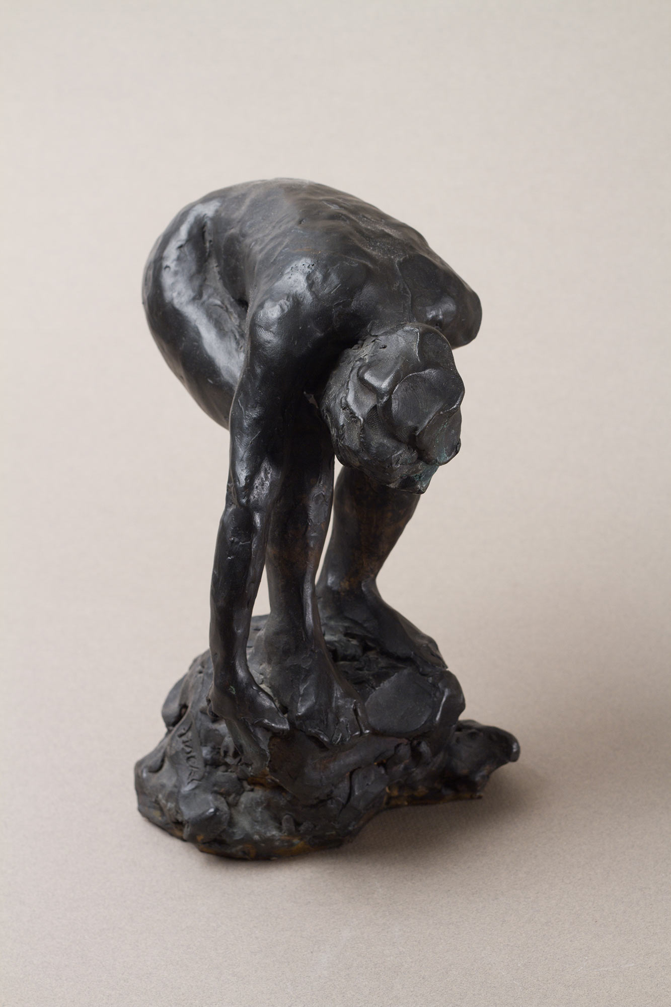 Bending Woman maquette, 1990.