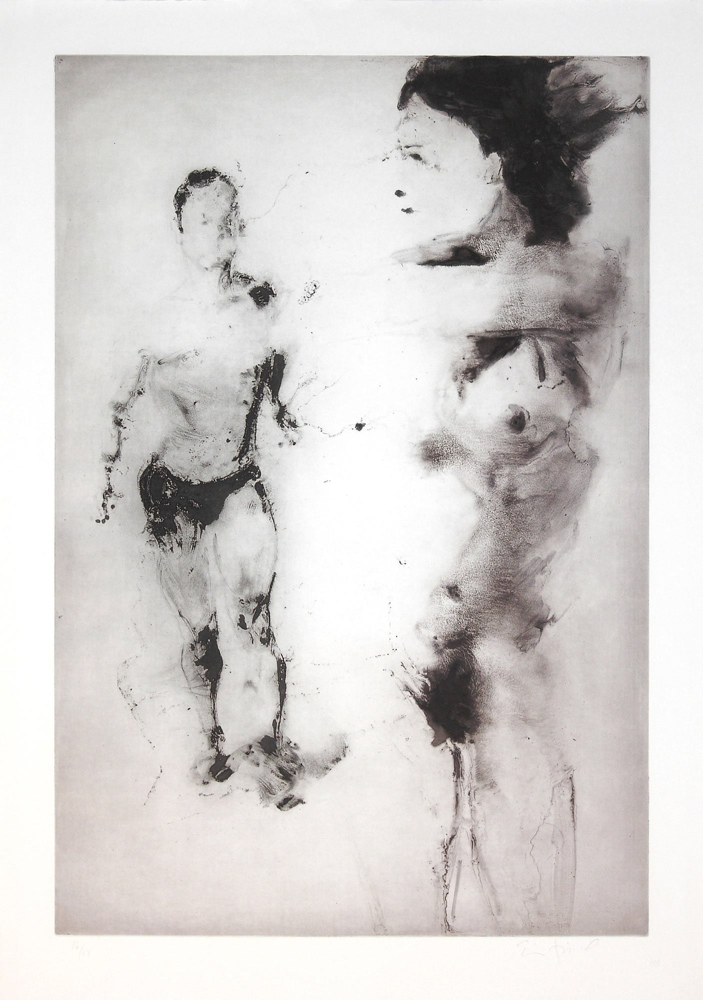 Untitled (Two Figures), 2006.