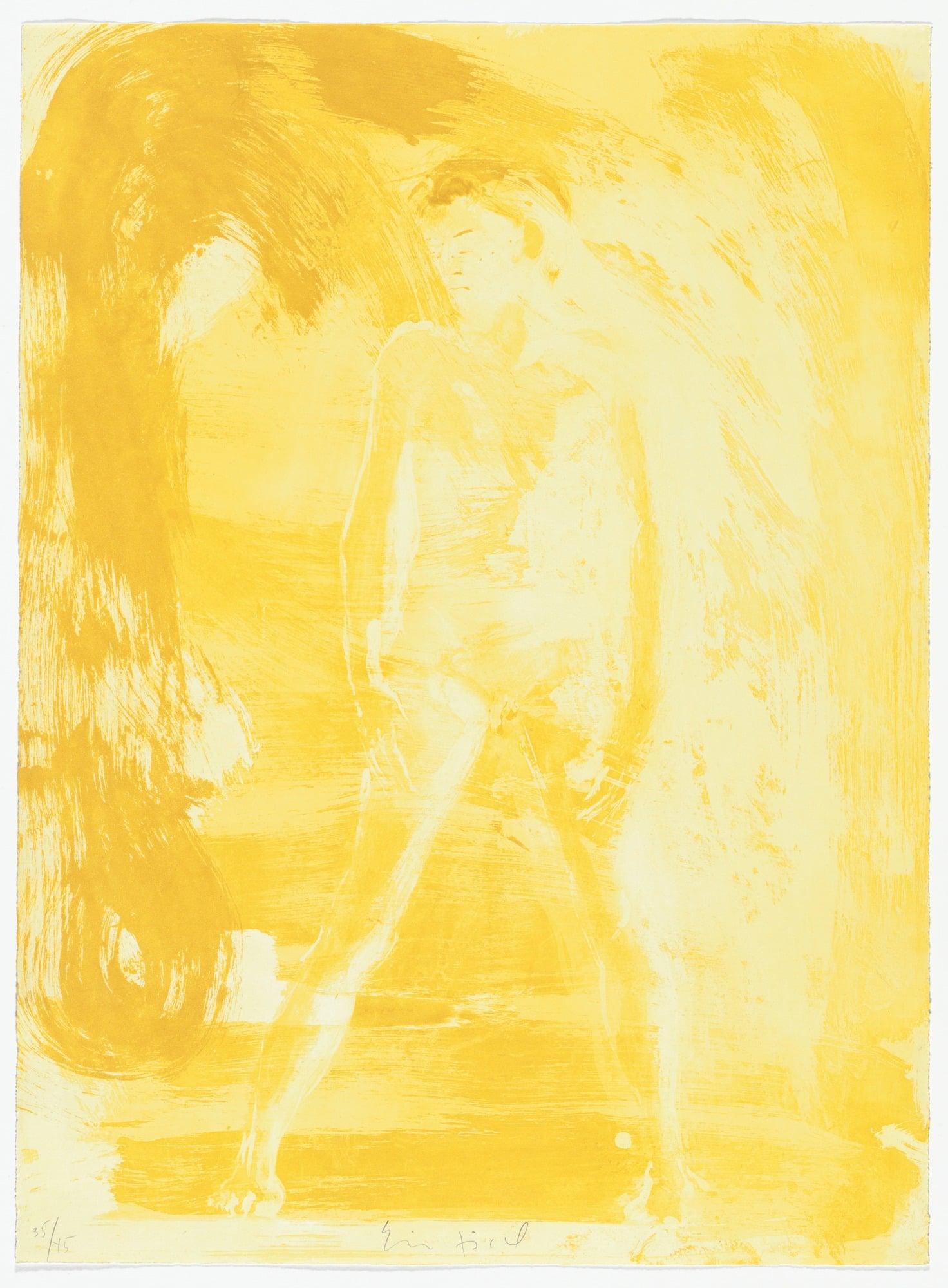 "Untitled, 1985. Aquatint 22 13/16 x 16 3/4"" (57.9 x 42.5cm)"