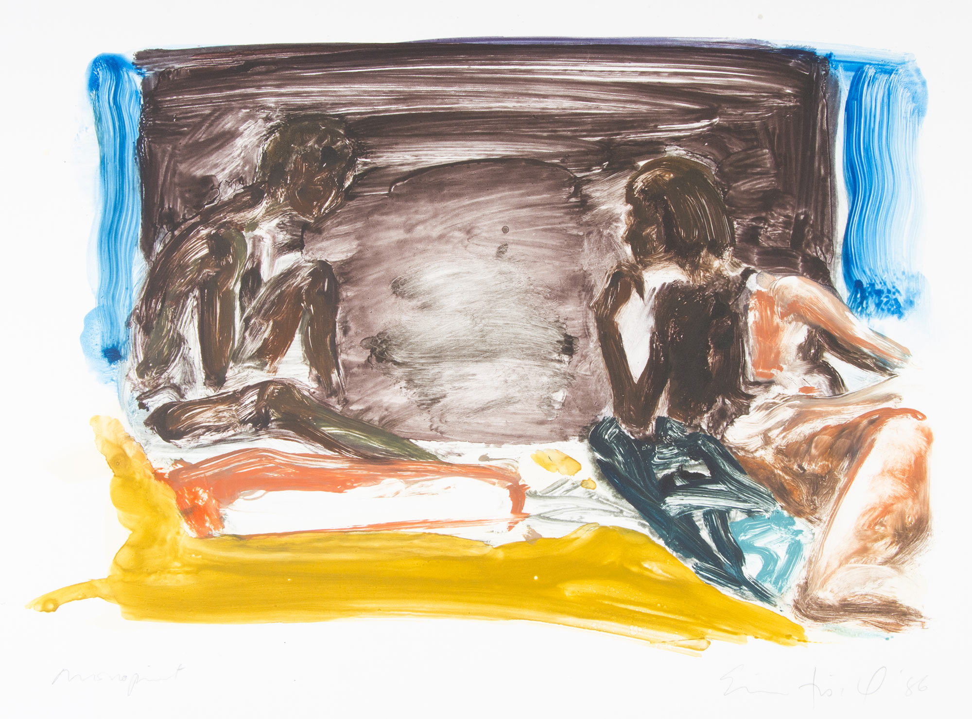 Scenes and Sequences: Figures in an Interior, 1986.