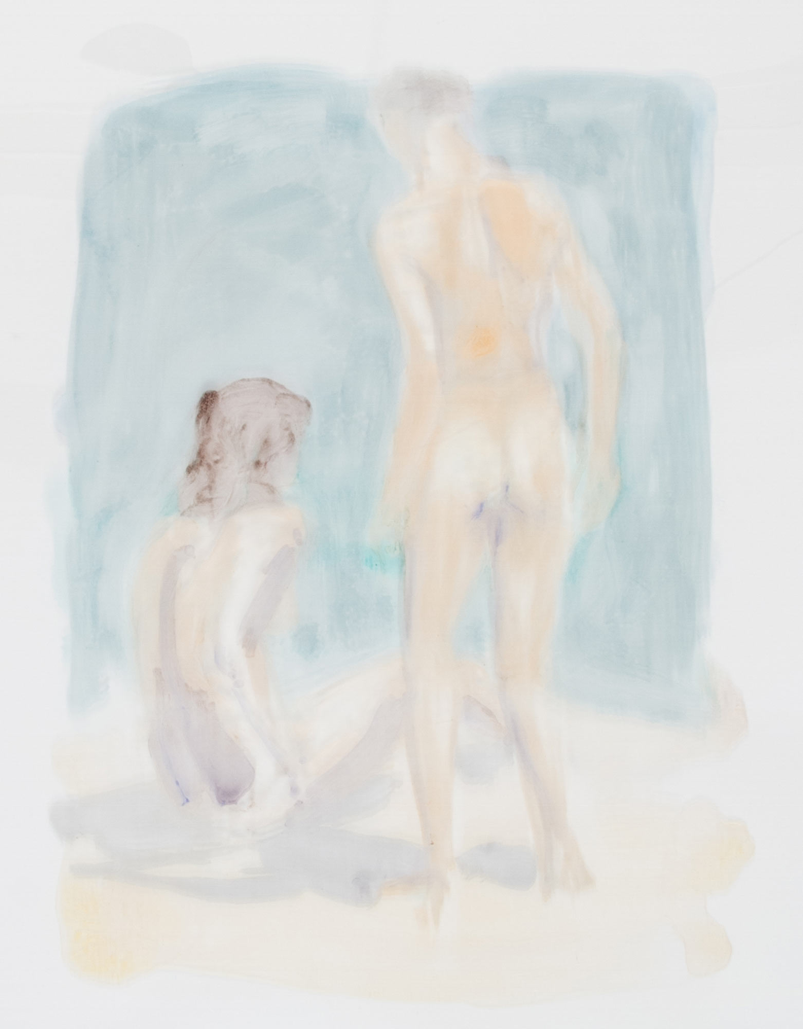 Scenes and Sequences: Two Figures on a Beach, 1986.