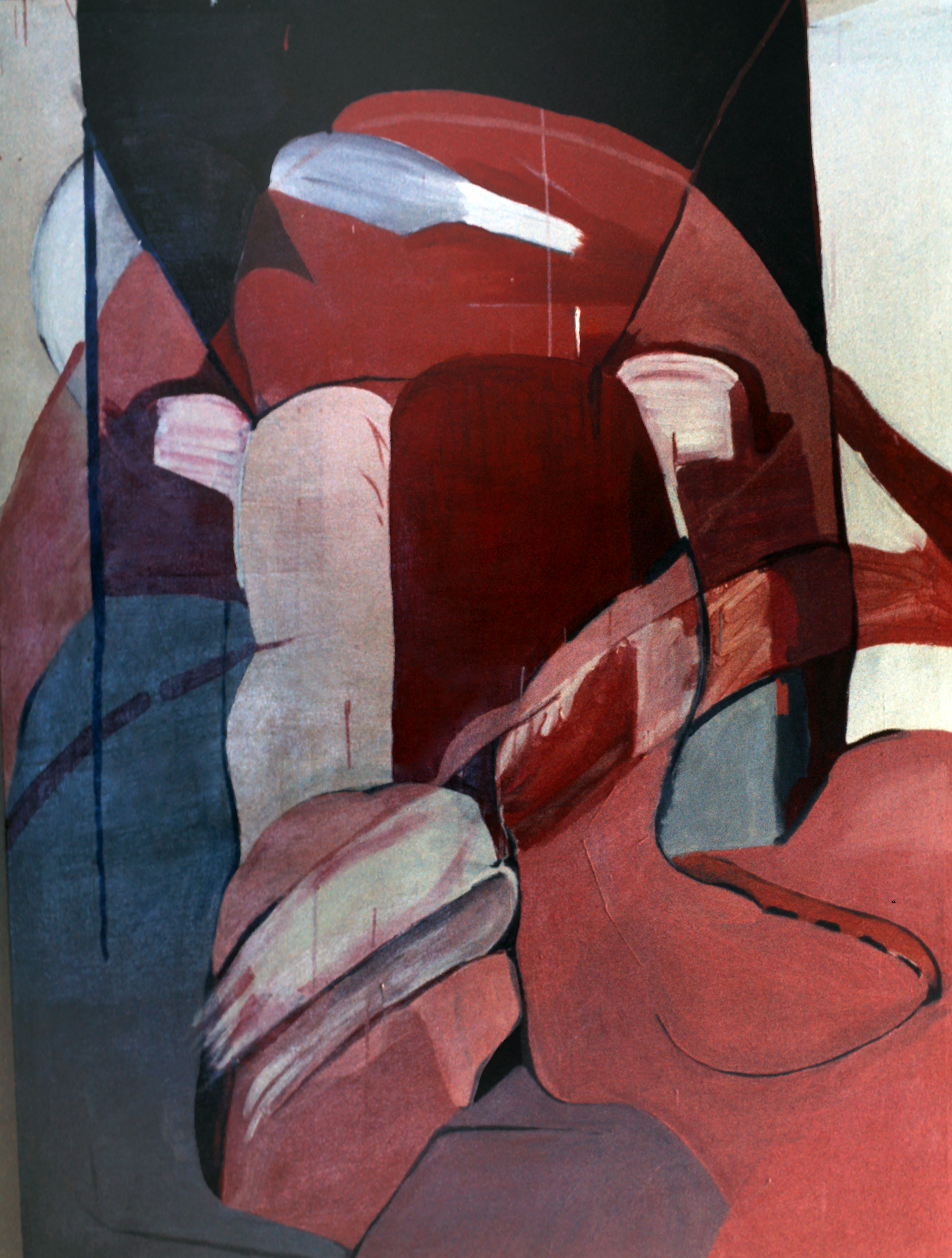 Untitled, 1969., oil on canvas, 60 x 70 in