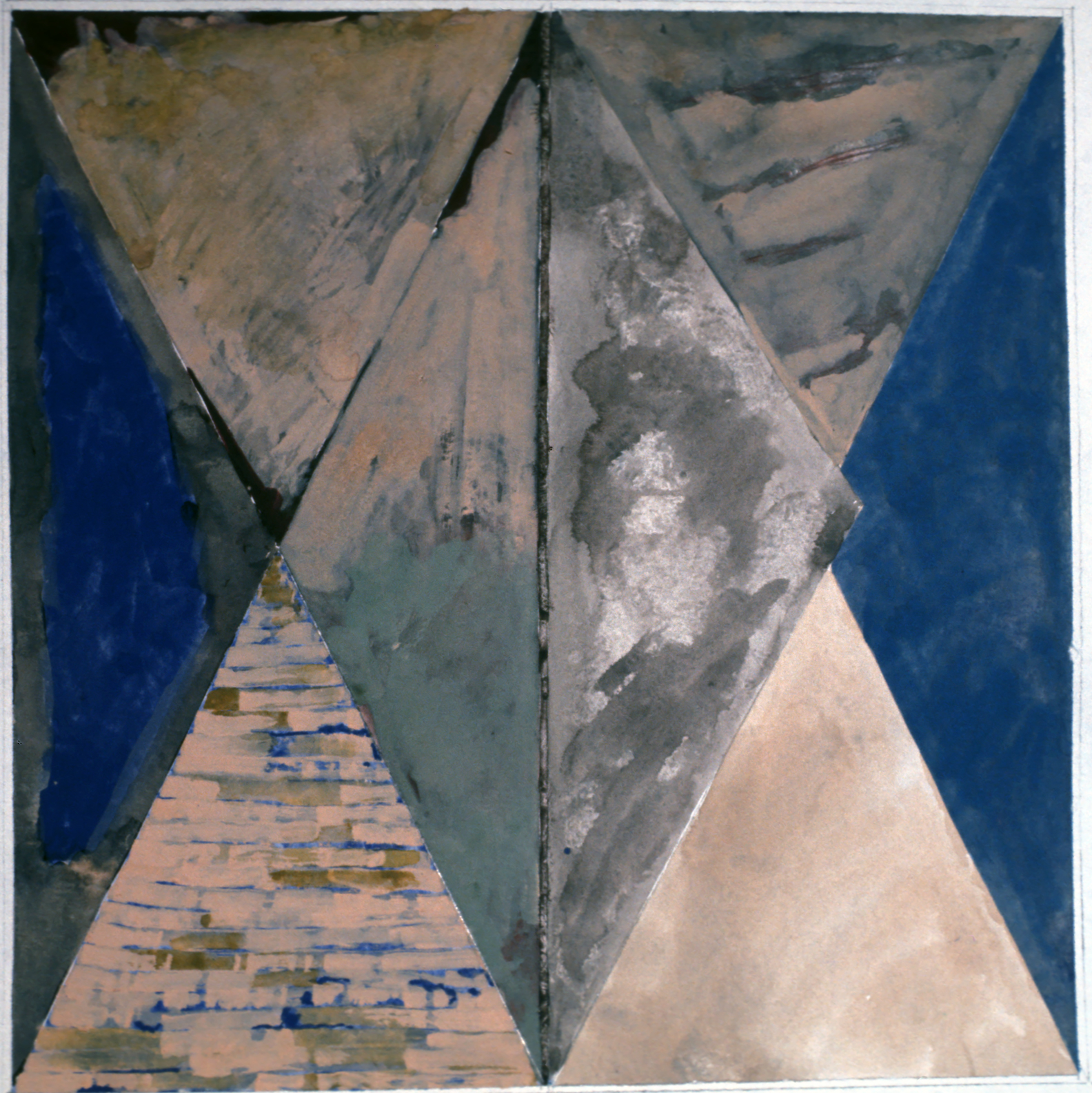 Untitled, 1973, oil on paper