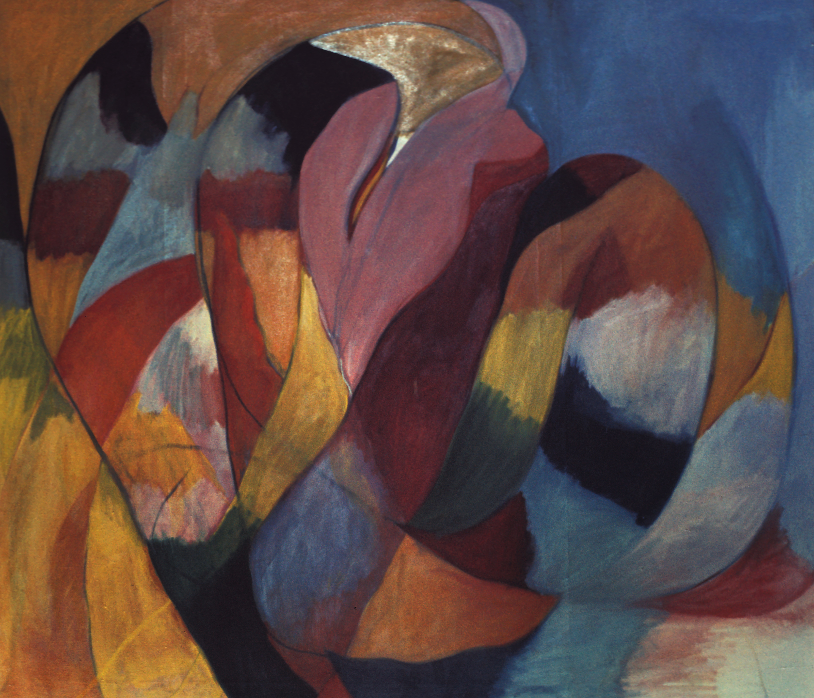 Untitled, 1969, oil on canvas