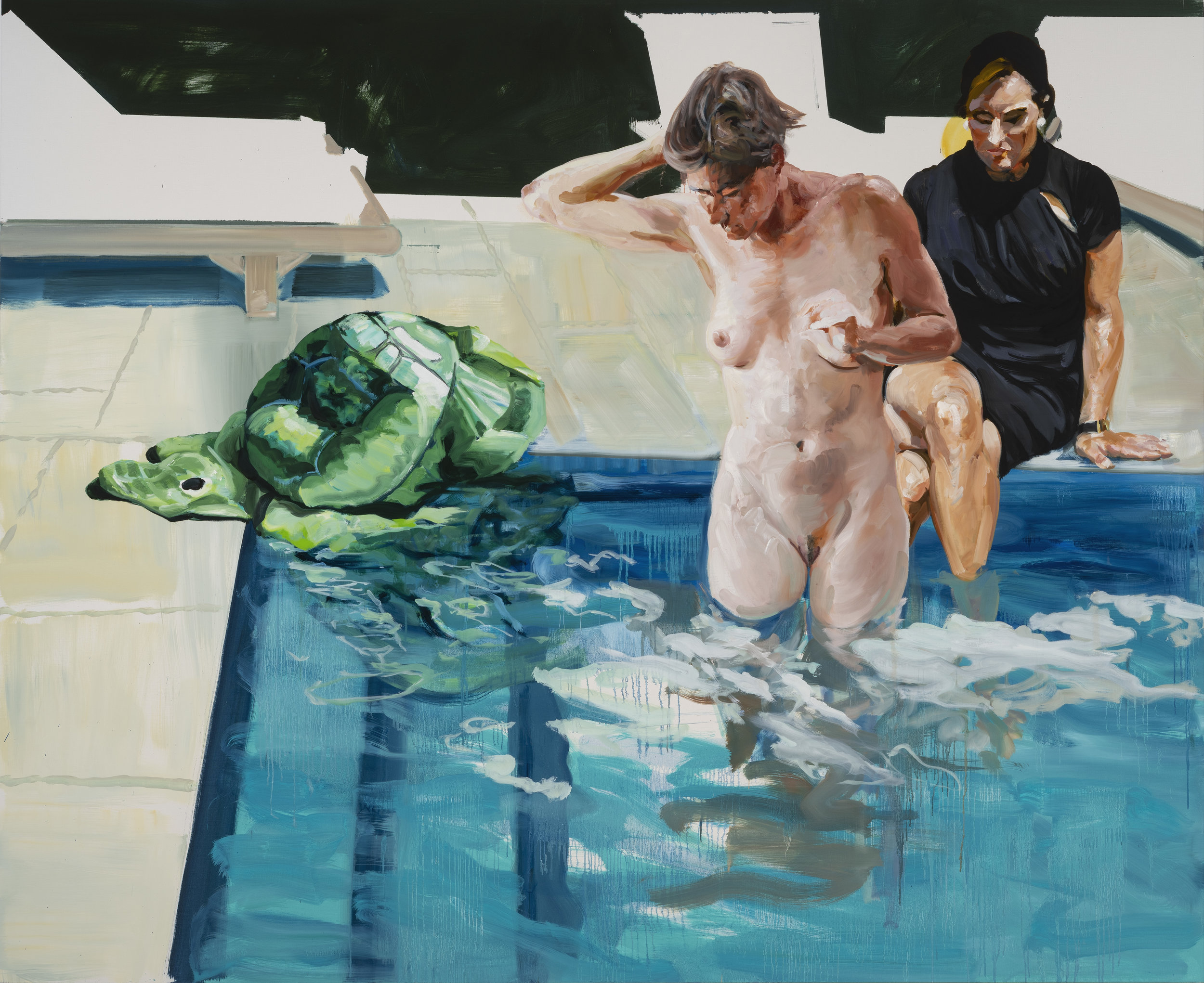 Something Lost 2018. Oil on Linen. 80 x 98 inches