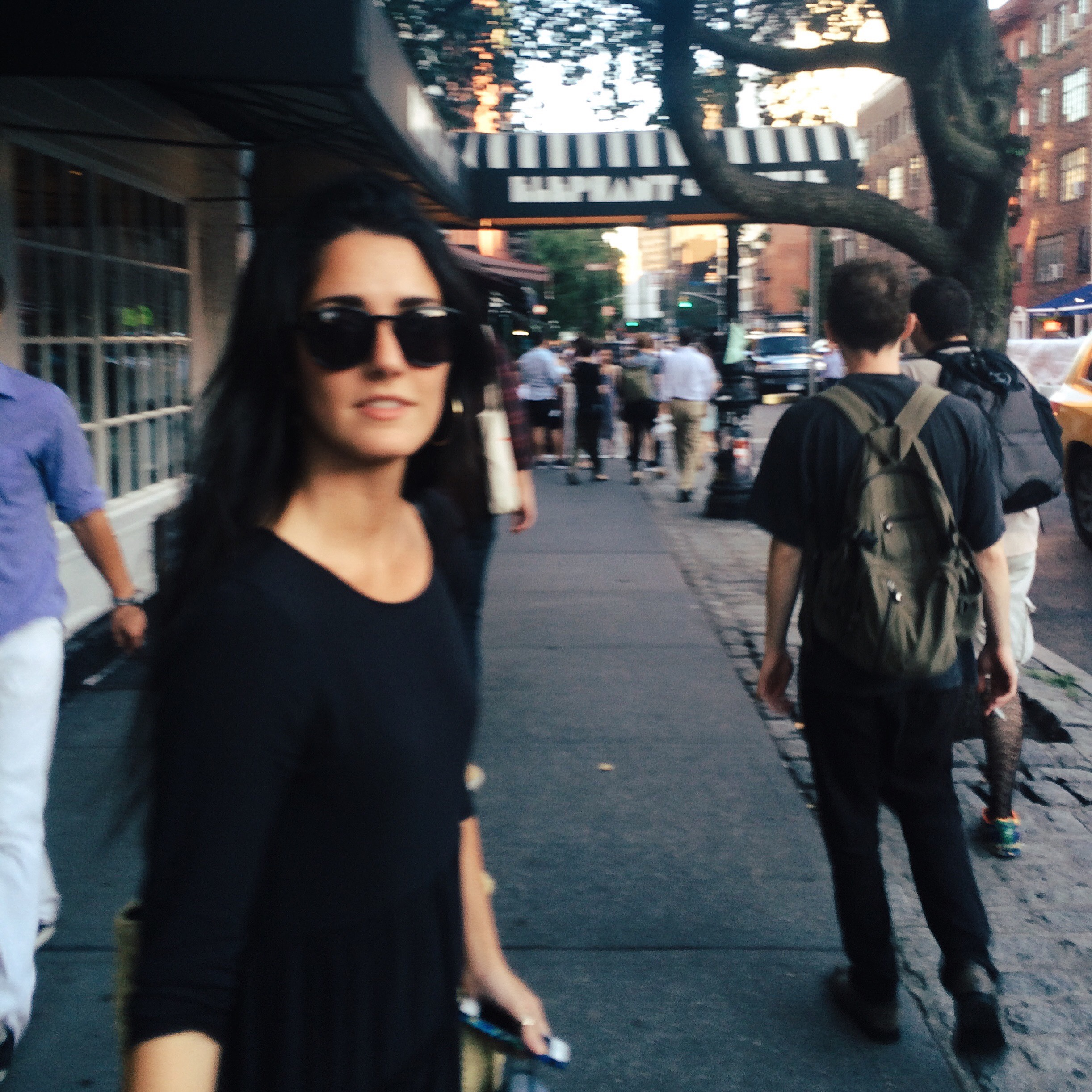 Viki Sanz, Greenwich Village, September 2015
