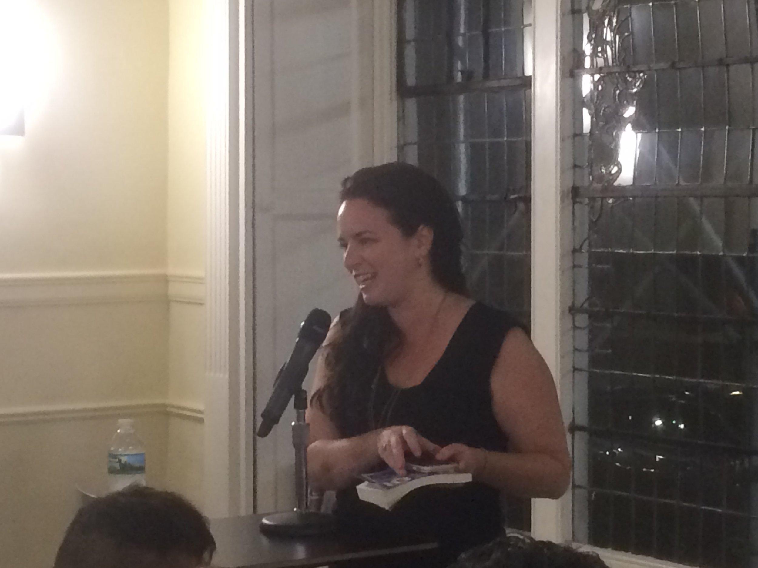 Editor-in-Chief Joanna Yas.