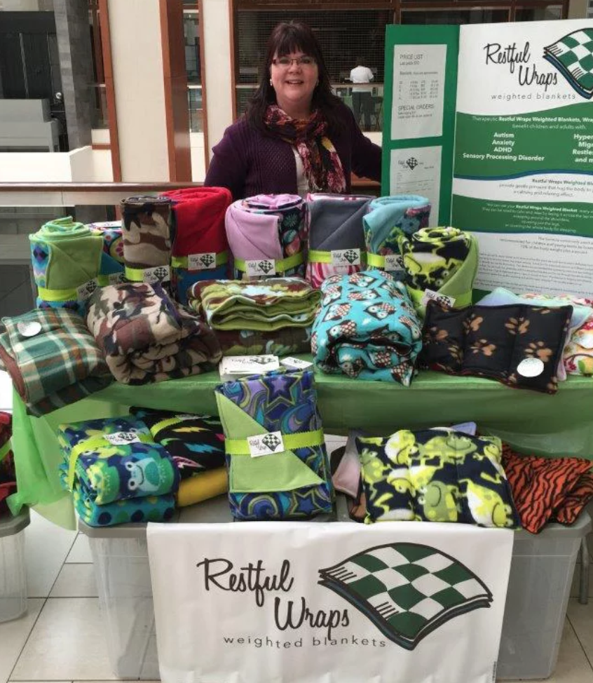 Restful Wraps - Cozy, cozy, cozy is the word for this great Minnesota Maker!
