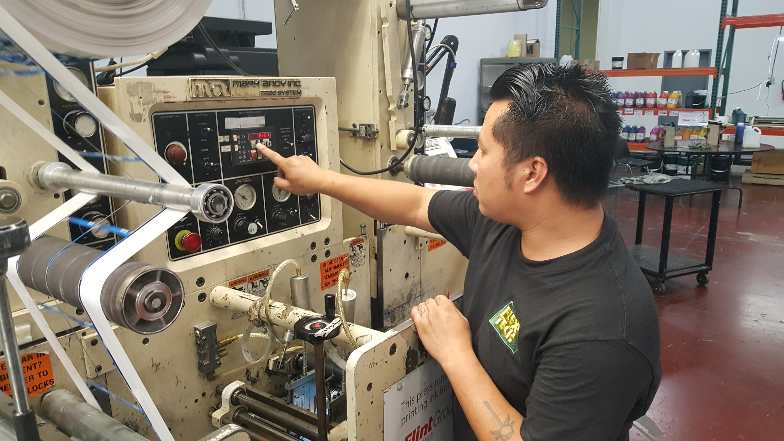 Xai Thao - I was working as a press helper who was new to the flexo industry. After going through the Flexo Tech Press Operator training program I was able to become an entry-level operator, not a helper anymore. I am excited about my new career and the benefit it will have on my future.