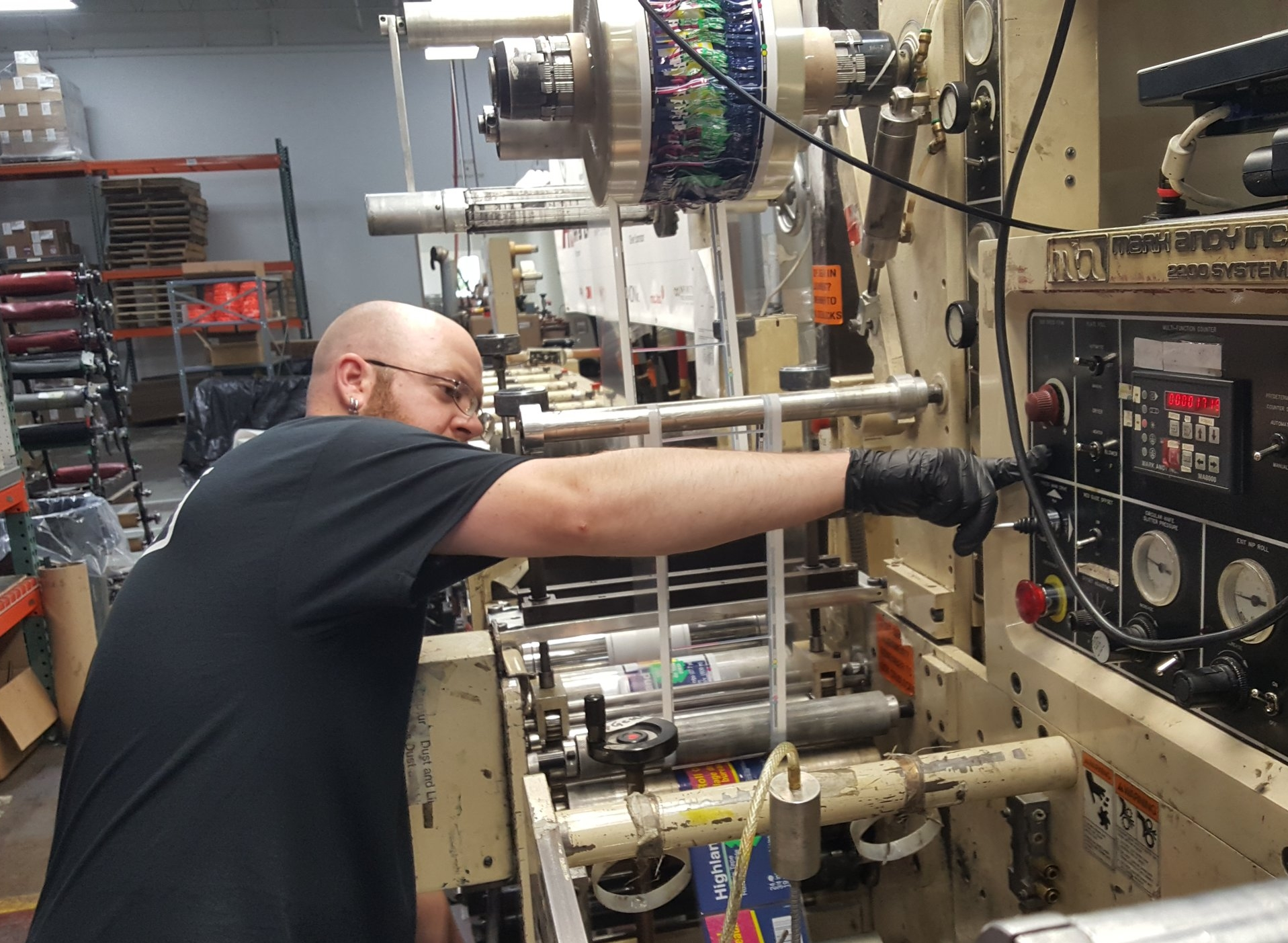 Aaron Pitt - Flexo Tech has really opened my eyes to the flexographic printing industry. There's so much to learn, and Shawn made it really fun. After the course I feel like I have the knowledge to put out the highest quality product every time I work.
