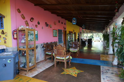 The guest house in Santa Elena.