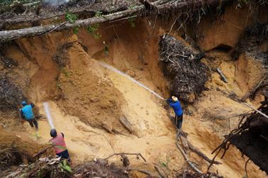 Gold Mining Operation