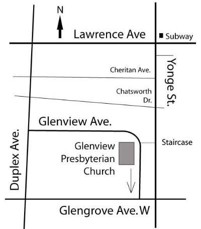 Glenview Map