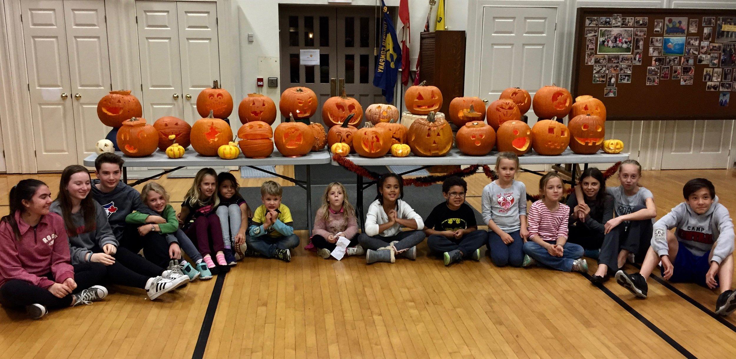 Pumpkin Party 2017!