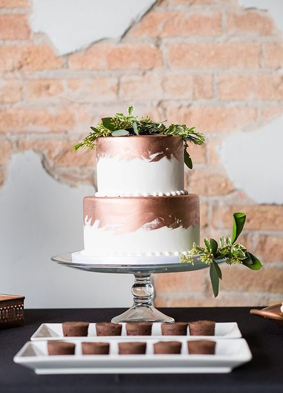 36-copper-and-white-wedding-cake-topped-with-greenery.jpg