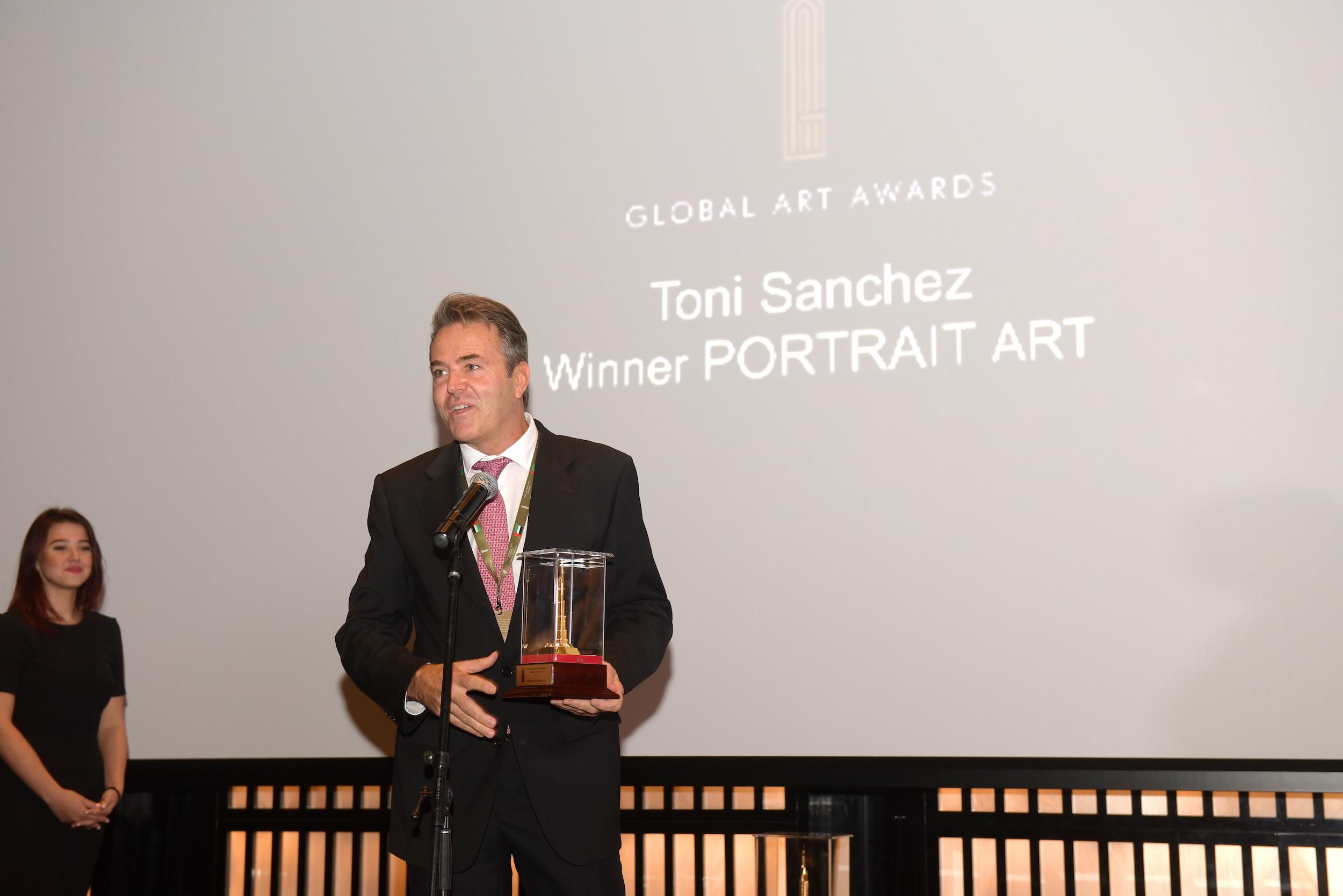 PORTRAIT ART AWARD   TONI SANCHEZ (SPAIN)