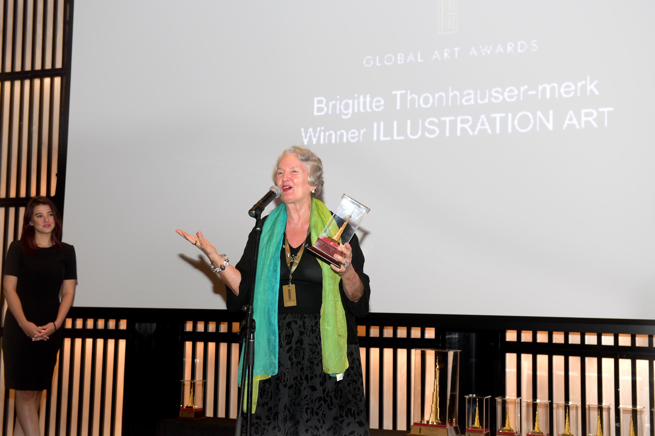 ILLUSTRATION ART AWARD   BRIGITTE THONHAUSER-MERK (AUSTRIA)