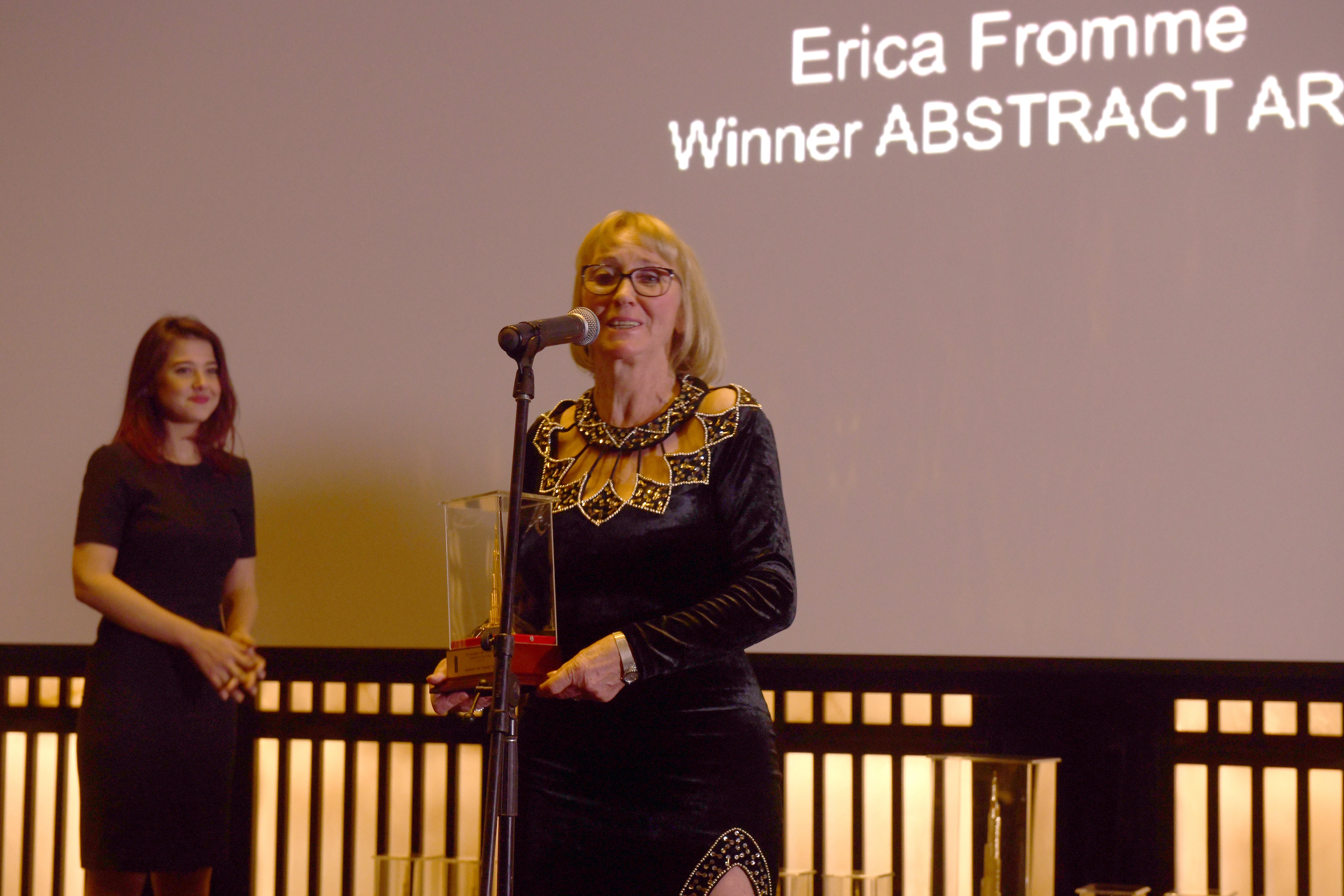 ABSTRACT ART AWARD   ERICA FROMME (GERMANY)
