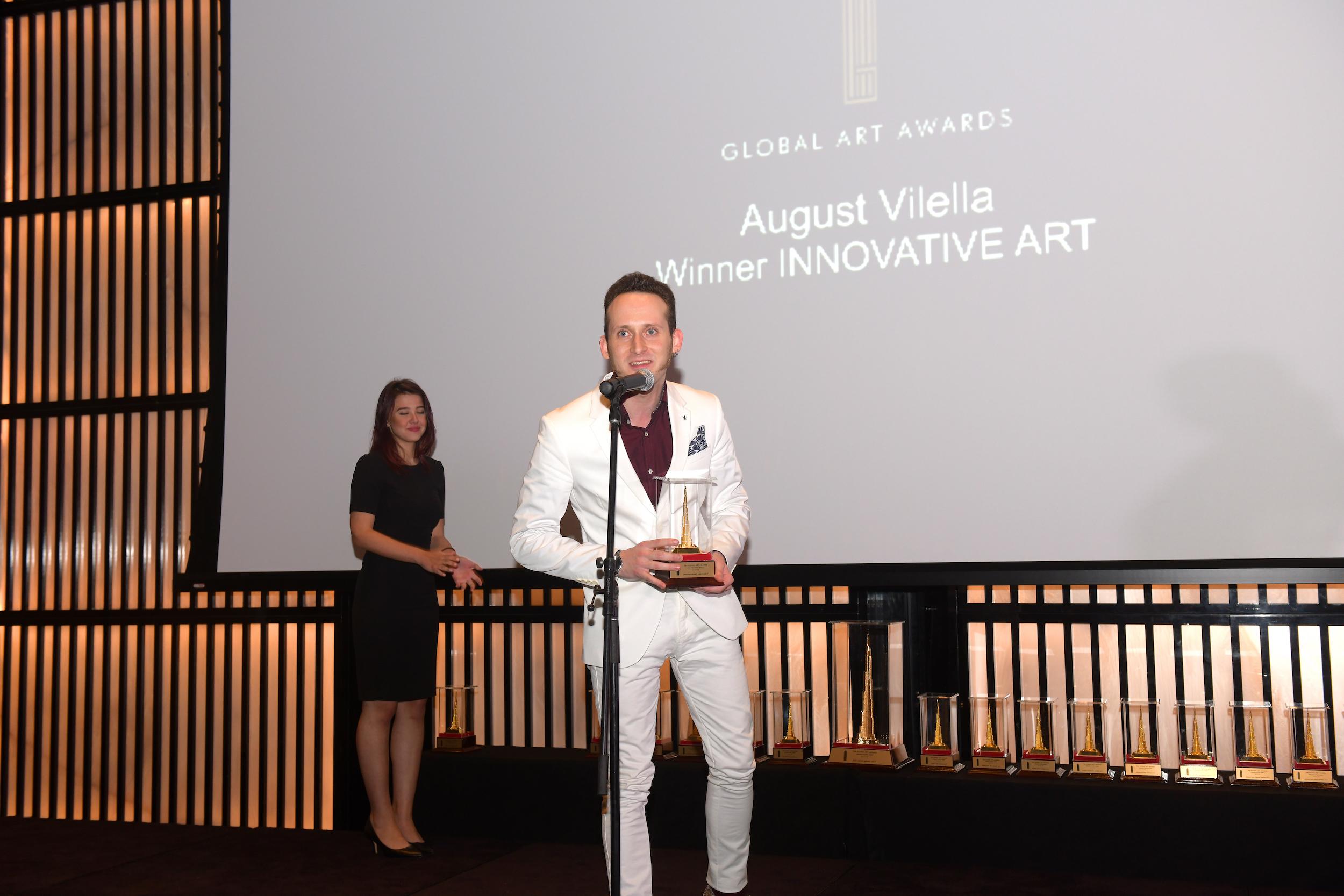 INNOVATIVE ART AWARD   AUGUST VILELLA (SPAIN)