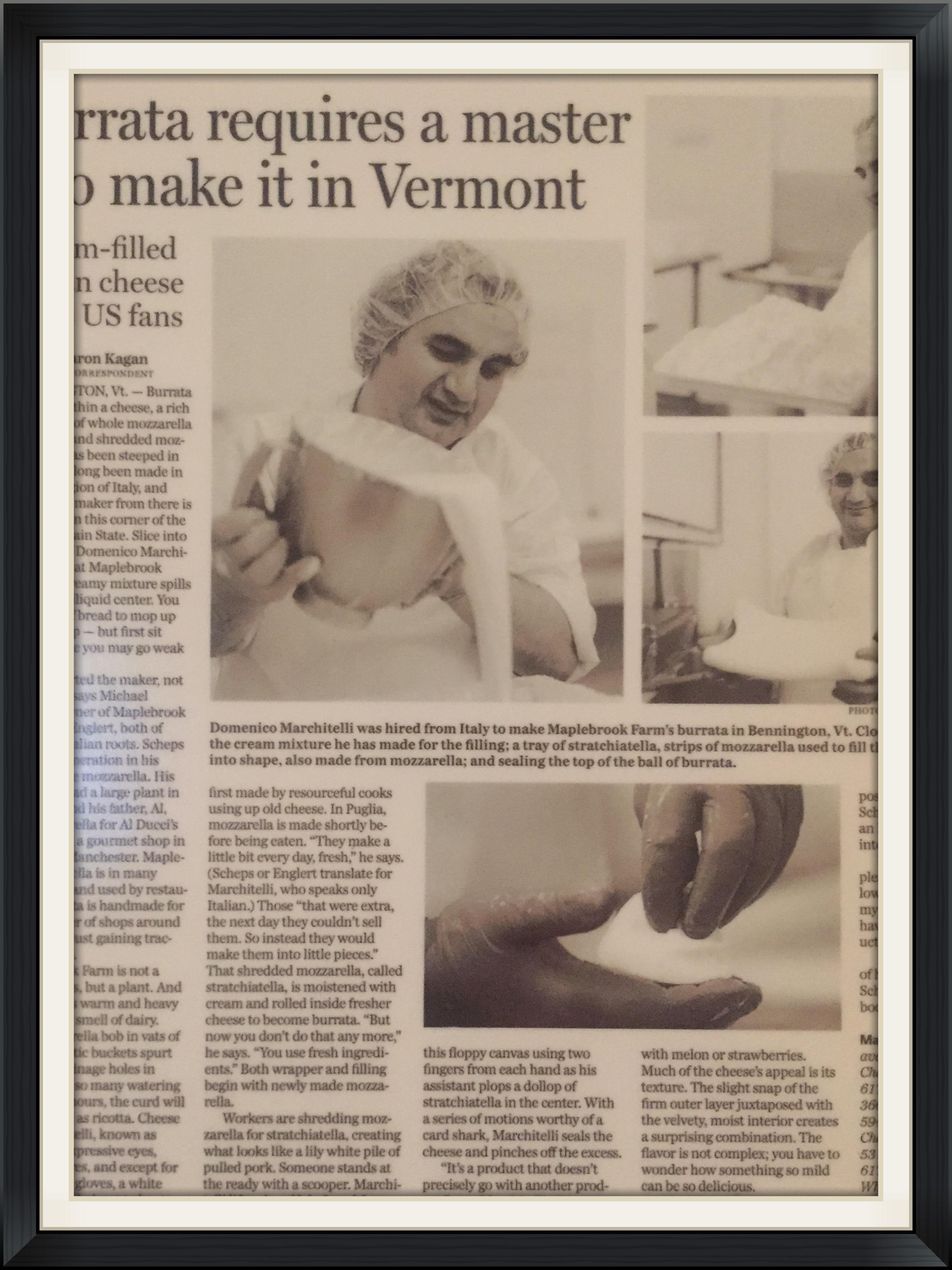 The Boston Globe March 29th, 2006