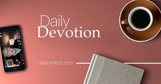 """Get a word of encouragement before starting your day by listening to Pastor Dale's daily devotionals. """"Put on salvation as your helmet, and take the sword of the Spirit, which is the word of God."""" — Ephesians 6:17 __  To receive these every weekday, simply text DEVO to 41411 or by visiting daleoshields.com. 📲 Get started today‼️"""
