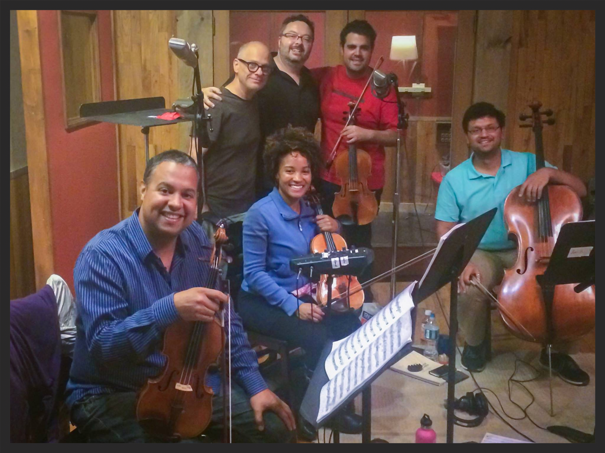 DAVID LANG AND THE HARLEM STRING QUARTET RECORDING  the difficulty of Crossing a field