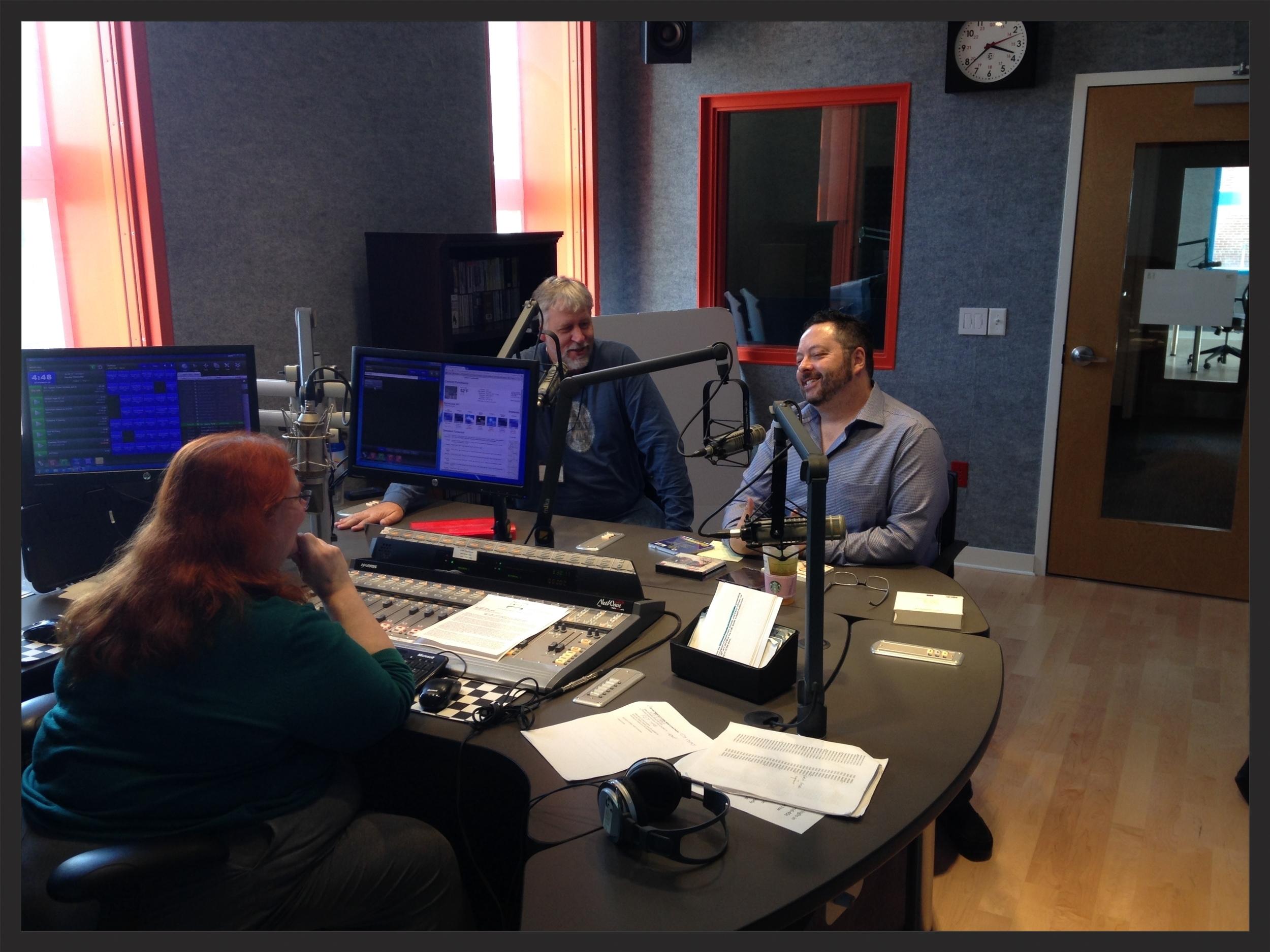 Annual OPERATHON for WCNY Radio in Syracuse